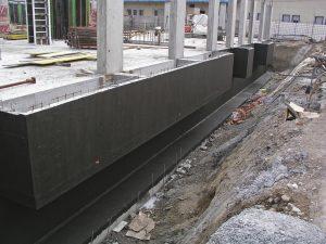 Гидроизоляция фундамента в строительстве