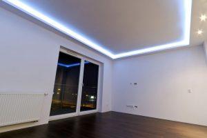 Скрытое потолочное освещение